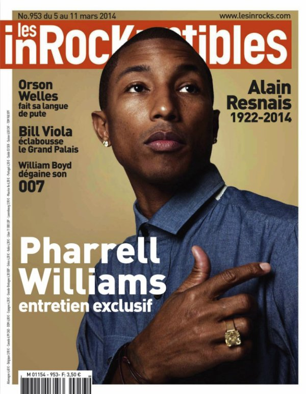 Pharrell - Les Inrocks - Mars 2014