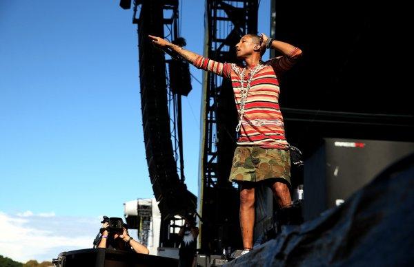 Pharrell - Future Music Festival - Sydney, Australie - 8 mars 2014