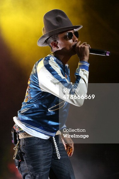 Pharrell - Perth - 14 mars 2014