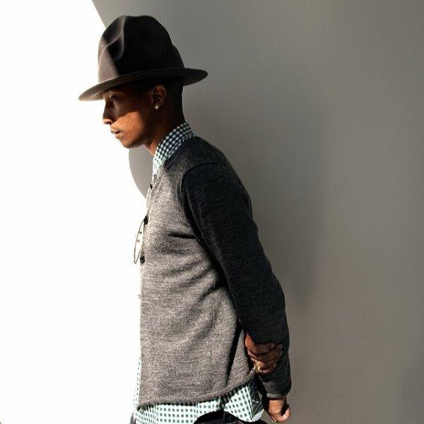 Pharrell nouveau coach dans The Voice