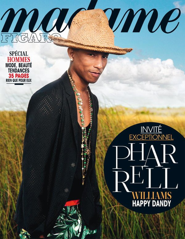Pharrell en couverture de ...