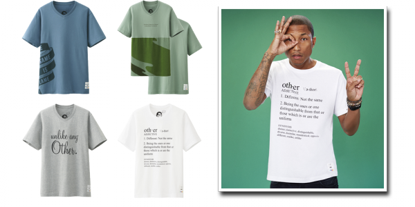 Pharrell x Uniqlo