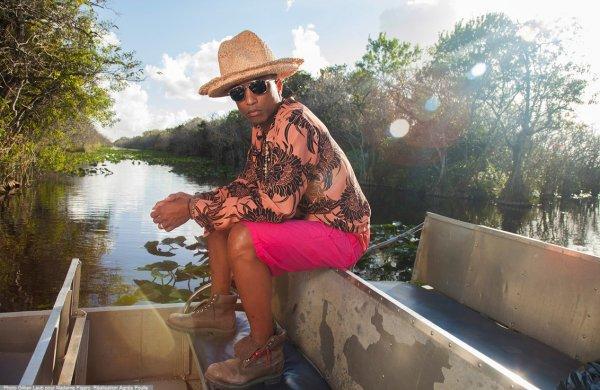 Pharrell - Madame Figaro Magazine - Avril 2014