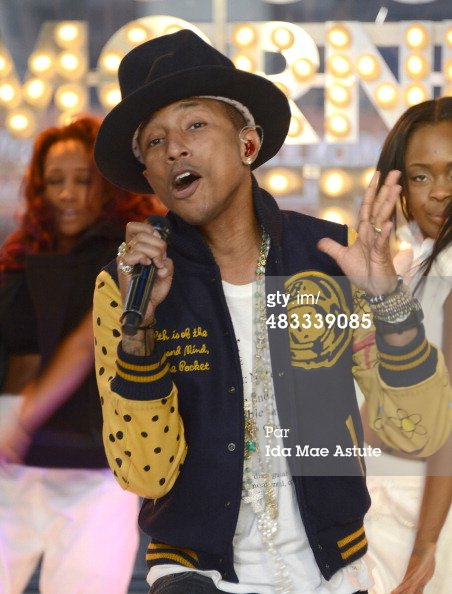 Pharrell - Live Good Morning America - 6 avril 2014