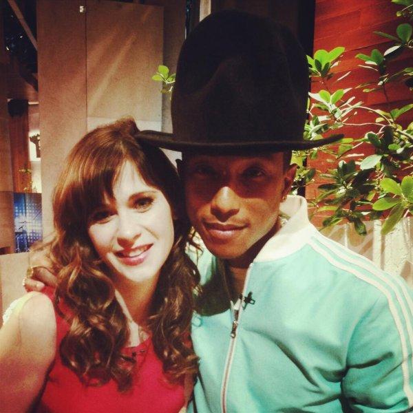 Pharrell - The Ellen Show - 9 avril 2014