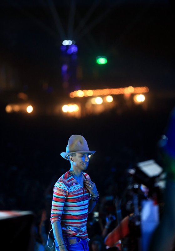 Pharrell - Coachella Festival - 12 avril 2014