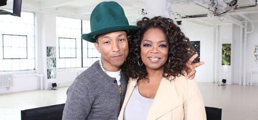 Pharrell - Oprah Prime - 5 avril 2014