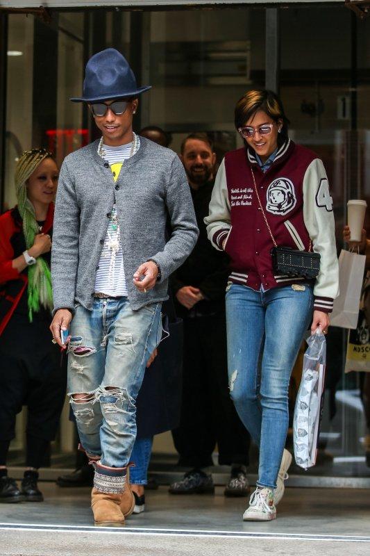 Pharrell & Helen - New York - 25 avril 2014