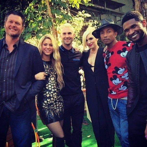 Pharrell - The Voice US - 5 mai 2014