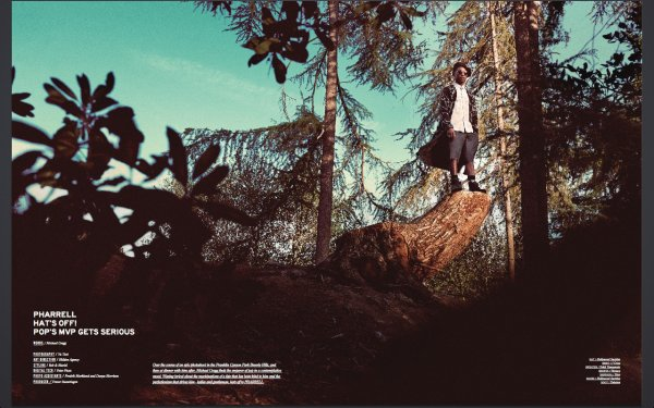 Pharrell - Notion Magazine
