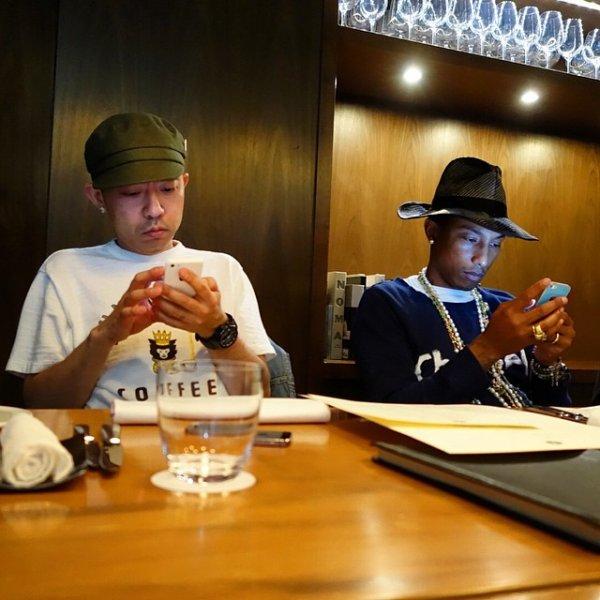 Pharrell - Tokyo - 14 mai 2014