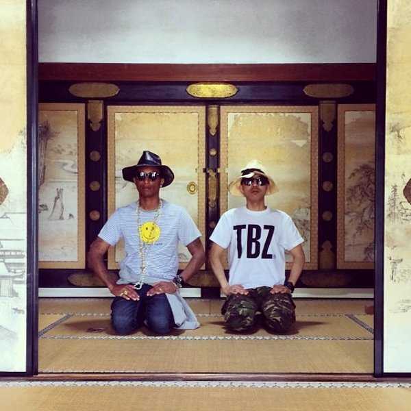 Pharrell - Kyoto - 18 mai 2014