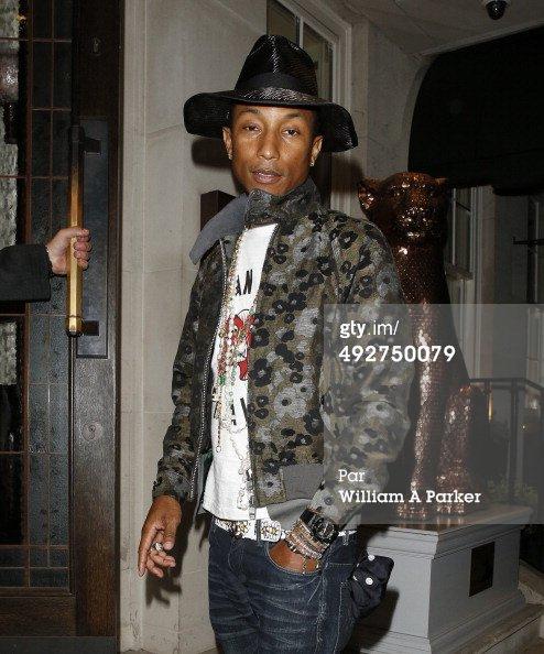 Pharrell & Helen - Londres - 21 mai 2014