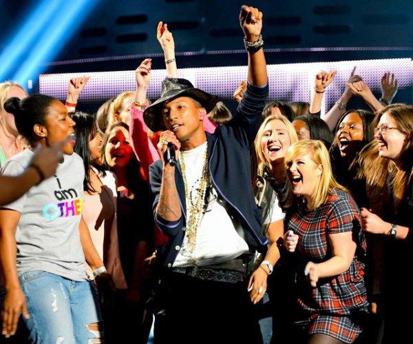 Pharrell - The Graham Norton Show - Londres - 22 mai 2014
