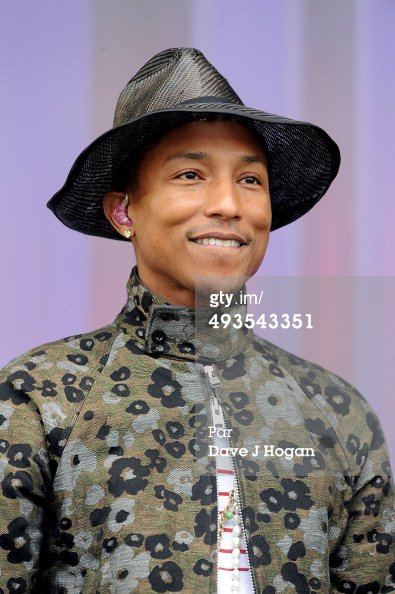 Pharrell - BBC Radio 1's Big Weekend - Glasgow - 24 mai 2014