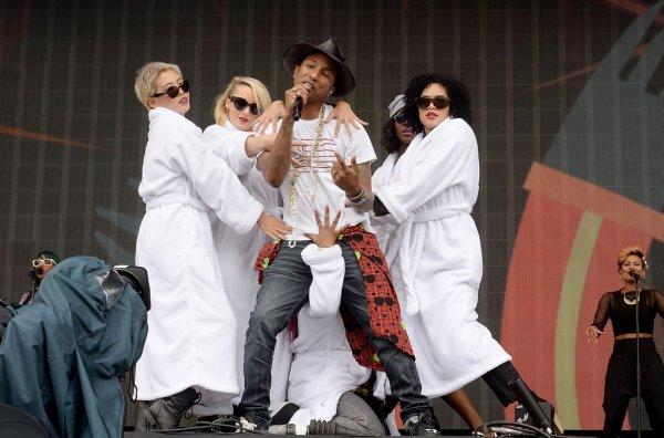 Pharrell - BBC Radio 1's Big Weekend - Glasgow - 24 mai 2014