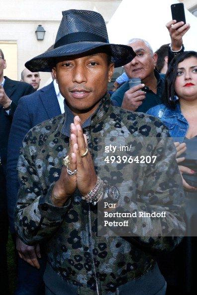 Pharrell - Concert Galerie Emmanuel Perrotin - 26 mai 2014