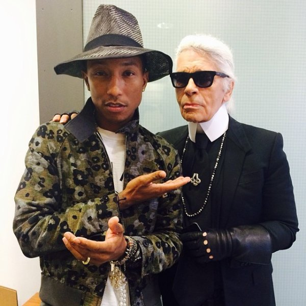 Pharrell - Paris - 27 mai 2014