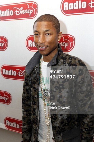 Pharrell - Radio Disney Studios - Hollywood - 30 mai 2014