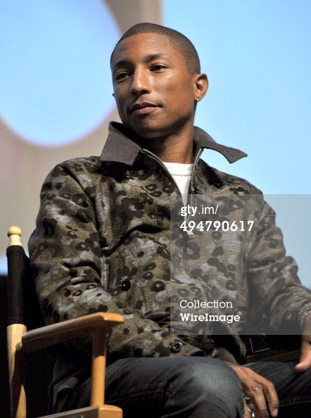 Pharrell - A Conversation About the 56th GRAMMYS & Beatles Show - Hollywood - 30 mai 2014