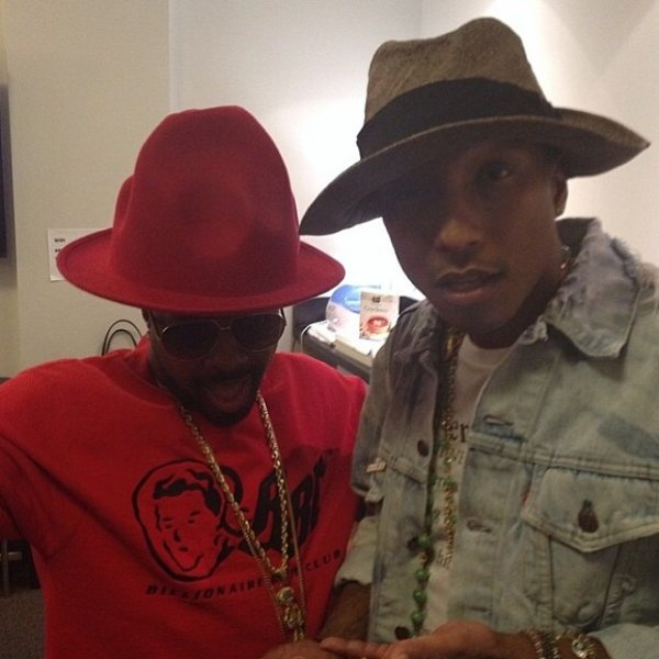 Pharrell - Hollywood Bowl - 1er juin 2014