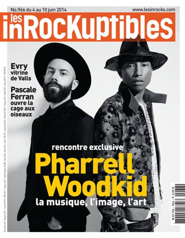 Pharrell & Woodkid - Les Inrockuptibles - Juin 2014