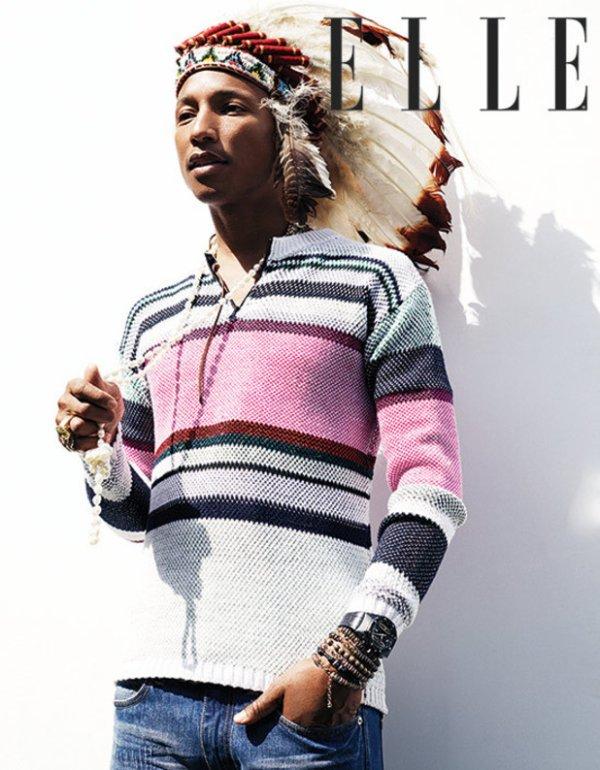 Pharrell - ELLE UK - Juillet 2014