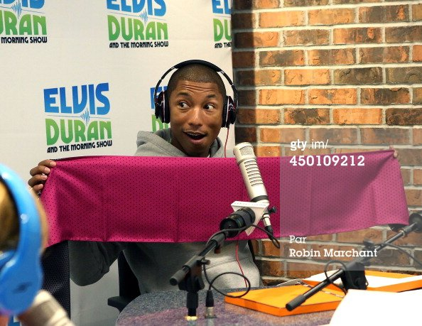 Pharrell - The Elvis Duran Z100 Morning Show - NYC - 5 juin 2014