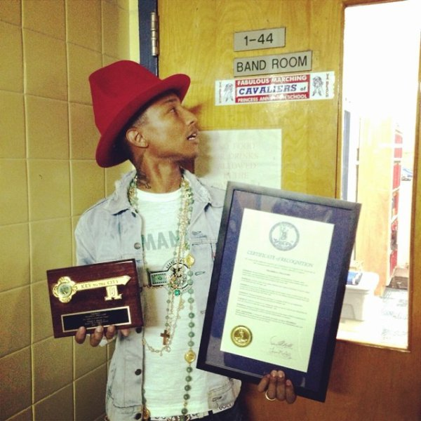 Pharrell Comes Home - Virginia Beach - 7 juin 2014