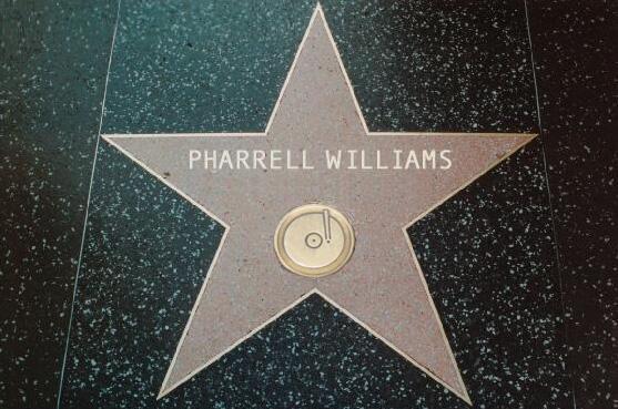Pharrell sur le Walk of Fame l'année prochaine!