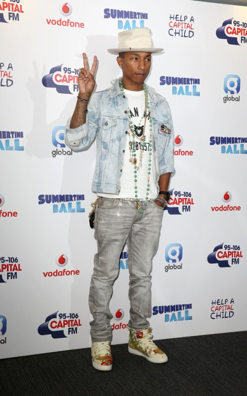 Pharrell - Capital Summertime Ball - Wembley Stadium, Londres - 21 juin 2014