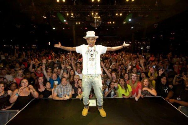 Pharrell - Priceless gig organisé par Mastecard - Londres - 24 juin 2014