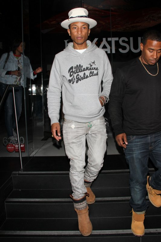 Pharrell - Los Angeles - 26 juin 2014