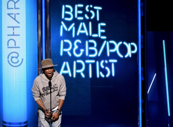Pharrell - BET Awards - Los Angeles - 29 juin 2014