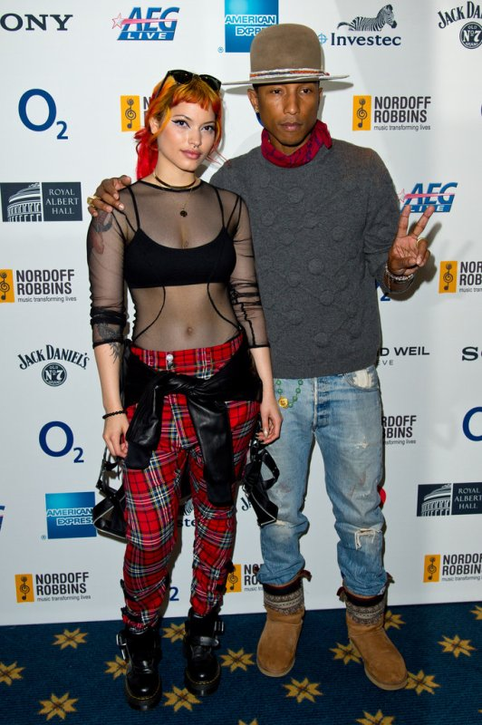 Pharrell - Nordoff Robbins 02 Silver Clef Awards - Londres - 4 juillet 2014