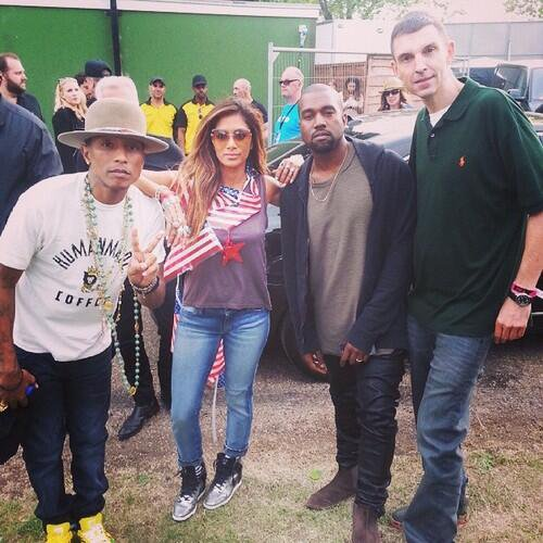 Pharrell - Wireless Festival - Londres - 4 juillet 2014