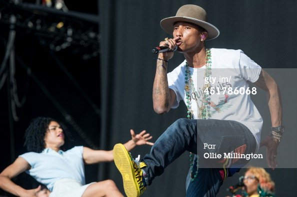 Pharrell - Wireless Festival - Birmingham - 6 juillet 2014