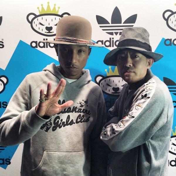 Pharrell - Berlin - 8 et 9 juillet 2014