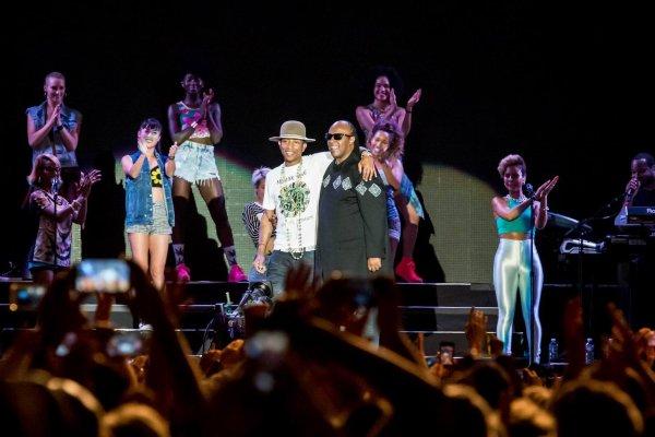 Pharrell - North Sea Jazz Festival - Rotterdam, Pays-Bas - 11 juillet 2014