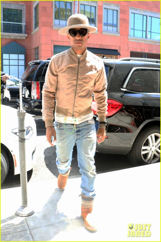 Pharrell - Los Angeles - 17 juillet 2014