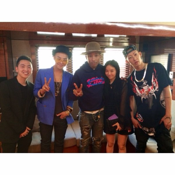 Pharrell & ... - Los Angeles - 12 août 2014