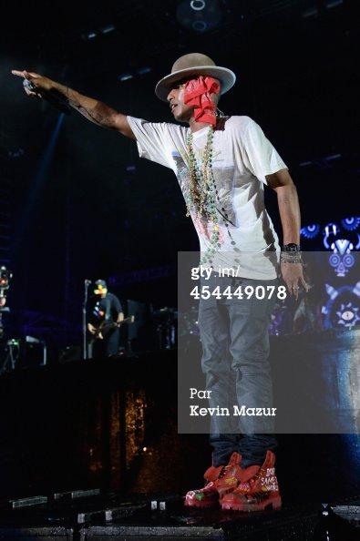 Pharrell & the Baes - Made in America festival - Philadelphia - 31 août 2014