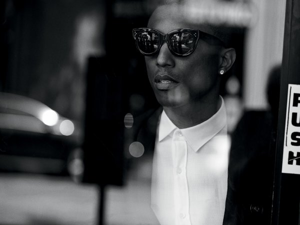Pharrell - Wall Street Journal Magazine Numéro de septembre 2014