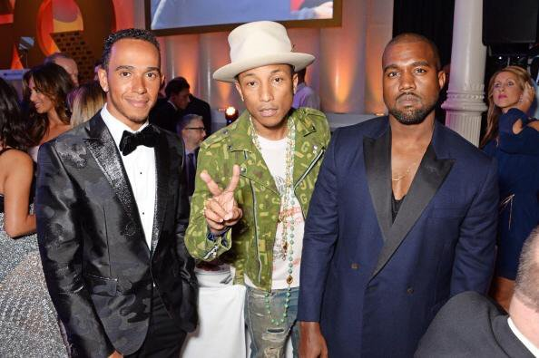 Pharrell - GQ Men of the Year Awards - Londres - 2 septembre 2014