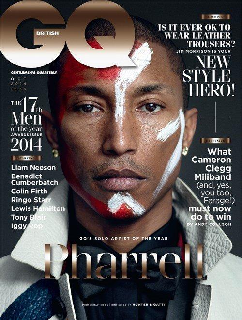 GQ British numéro d'octobre 2014