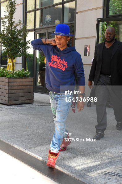 Pharrell - New York City - 5 septembre 2014