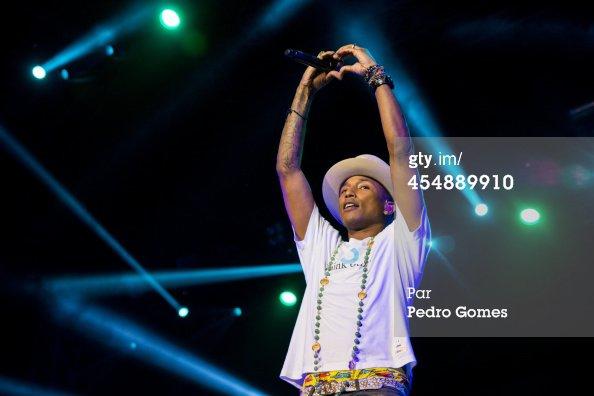 Pharrell & the Baes - GNC Festival - Istanbul, Turquie - 7 septembre 2014