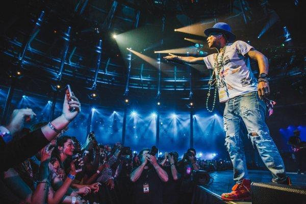 Pharrell & The Baes - iTunes Festival - Londres - 10 septembre 2014
