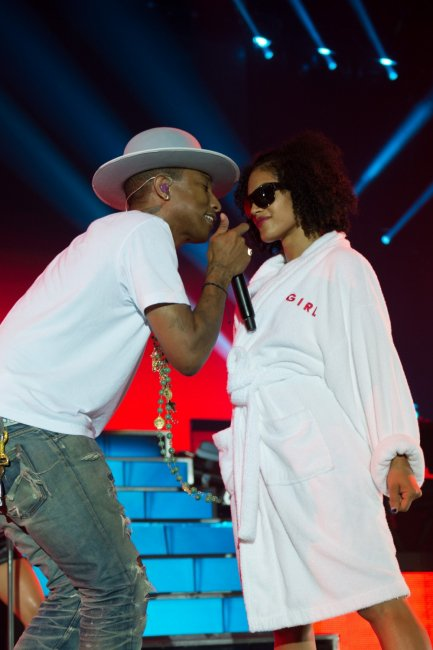 Pharrell & The Baes - The Dear G  I  R  L Tour - Copenhague - 12 septembre 2014