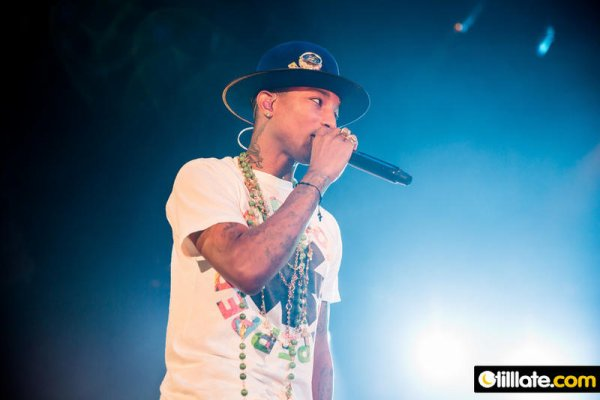 Pharrell and The Baes - The Dear G  I  R  L Tour - Hallenstadion - Zurich - 21 septembre 2014